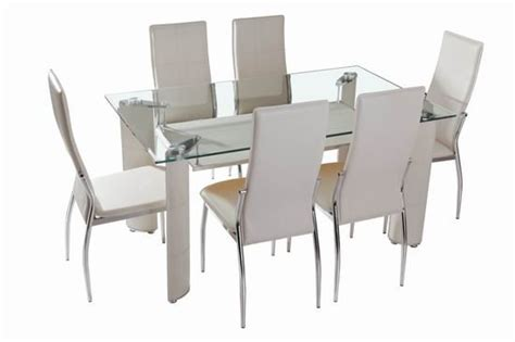 chrome dining room sets glass and chrome dining room sets xys 201 id 5584277