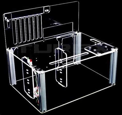 homemade pc test bench myopenpc bench king transparent clear acrylic test bench