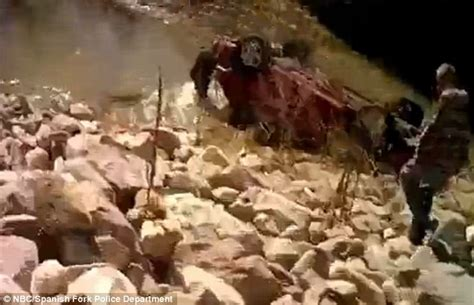 baby miraculously alive in car sunk in utah river cnn moment miracle baby was saved from car wreck after 14