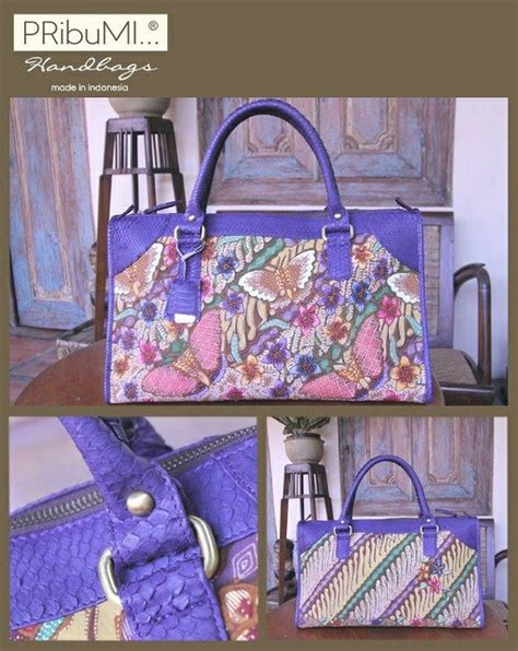 Tas Borneo Island this borneo batik bag by pribumi is sooooo beautiful