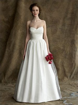 plain style strapless sweetheart neckline empire waist