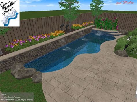 Small Swimming Pools For Small Backyards 35 Best Images About Pools For Small Yards On Small Yards Swimming Pool Designs And