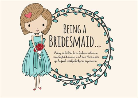 Wedding Congratulations Bridesmaid by How To Be A Top Notch Bridesmaid Infographic