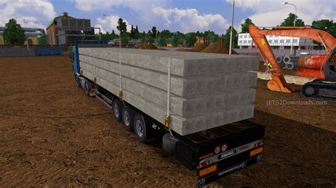 flat bed trailers koegel flatbed trailer pack euro truck simulator 2 spot