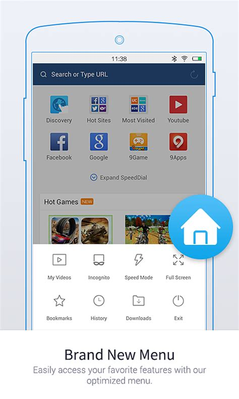 uc browser mini tiny fast secure for android