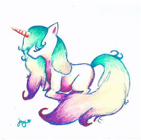 Drawing Unicorns by Unicorn Drawing By Yunixis On Deviantart