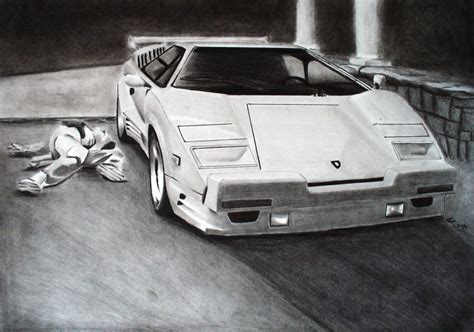 Lamborghini Wolf Of Wall The Wolf Of Wall Countach 25th Anniversary By