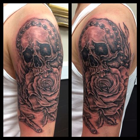 rose religious tattoos gallerydevils own tattoos and piercing studios devils
