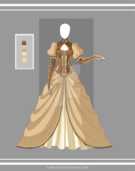 Design A Victorian Dress Game | adoptable outfit 21 closed by laminanati on deviantart