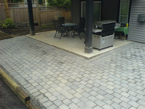Stone Patio Design ? Unique Hardscape Design : Long