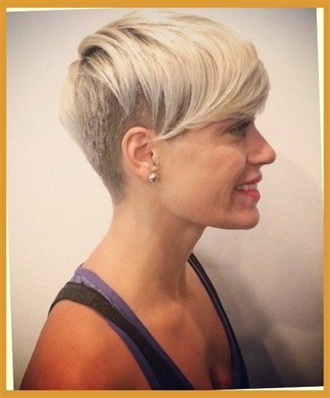 spikey shaved elegant womens shaved hairstyles pertaining to hair