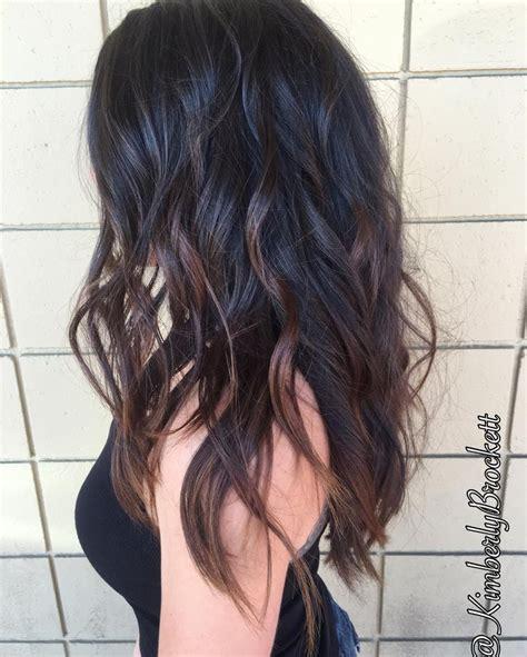 balayage highlights on dark brown hair best 25 balayage dark brown hair ideas on pinterest