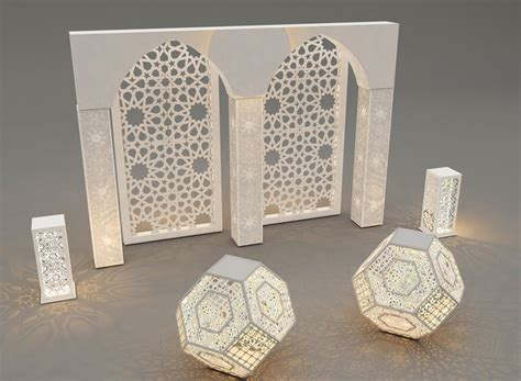 Decoration Islam by Islamic Decoration 3ds