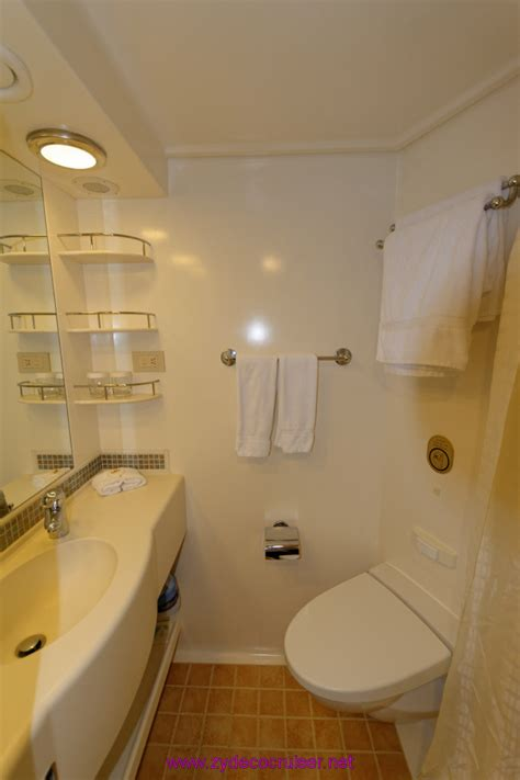 how to cruise in a bathroom not quite live from the emerald princess with lots of