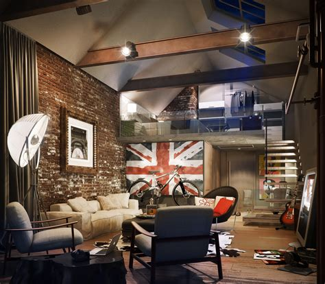 home design new york style style loft in the interior home interior and furniture ideas