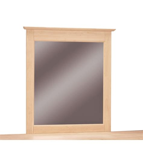 28 inch mirror 28 inch lancaster mirror bare wood wood furniture