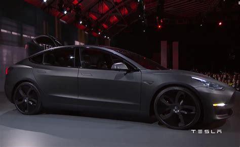 Tesla Model 3 Horsepower by Tesla 3 Specs Tesla Image