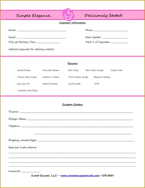 paid in receipt template 6 order forms templates free word fabtemplatez