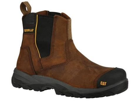 Caterpilar Boots Safety caterpillar propane safety boot brown cat safety footwear