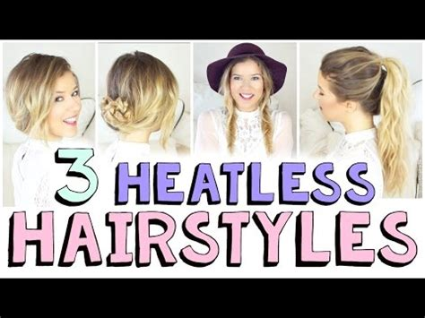 hairstyle videos download mp4 download 3 heatless hairstyles for fall 3gp mp4 mp4 full