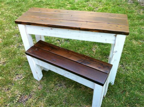 Distressed Wood Kitchen Table Items Similar To Reclaimed Distressed Wood Kitchen Table Desk With Bench On Etsy