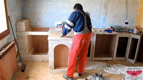 costruire una cucina in muratura realizzazione di una cucina in quot muratura quot
