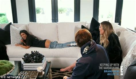 big ass couch keeping up with the kardashians kim frets about pictures