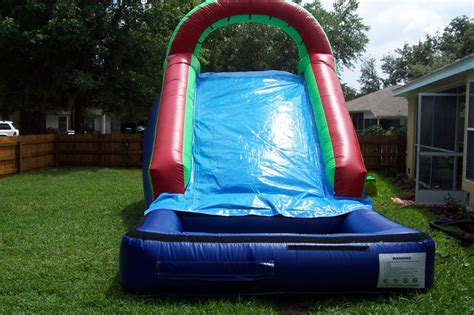backyard water slides triyae backyard water slide various design