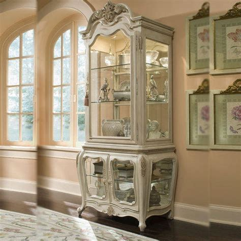 antique white china cabinet vintage antique white curio cabinet china buffet hutch