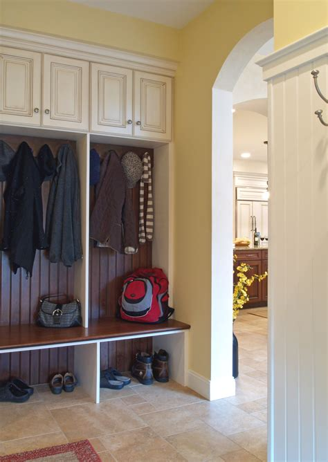 bench mudroom mudroom with storage cabinets bench and hooks on the level