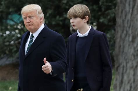 president donald trump s florida white house mar a lago barron trump eager to host white house sleepovers