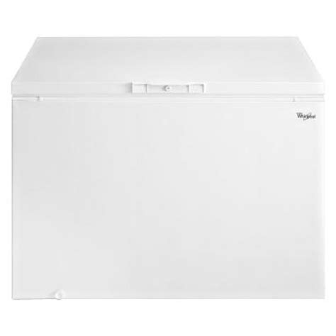 whirlpool 14 8 cu ft chest freezer in white eh151fxtq