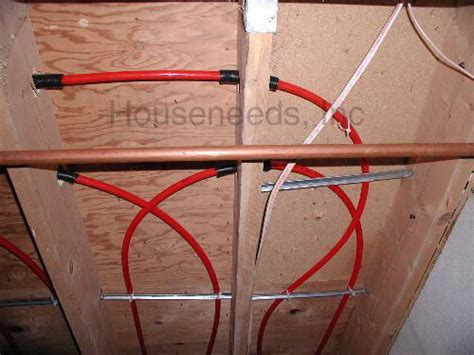 pex floor sleeve plastic pex tubing protection sleeve and other pex accessories