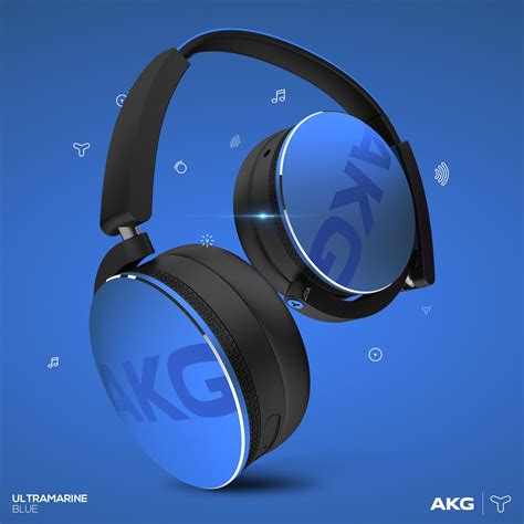 Akg Bluetooth Headphone Y50 Bt akg y50bt portable foldable on ear rechargeable co uk electronics