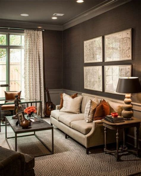 home decor rustic brown color wall picture nice good 54 masculine living room design ideas comfydwelling com