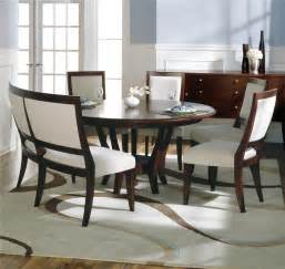 dining table with padded bench gallery