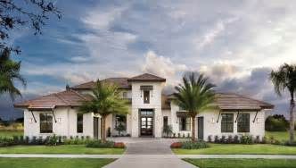 Home Design Tampa by Castellina 1272 Model Home Tropical Exterior Tampa