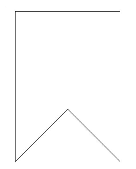 printable bunting template 25 best ideas about bunting template on