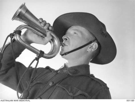 tattoo army bugle call centenary of anzac did you know