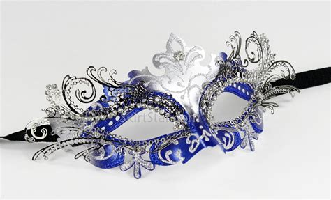 Masquerade In Blue silver and blue masquerade masks www imgkid the