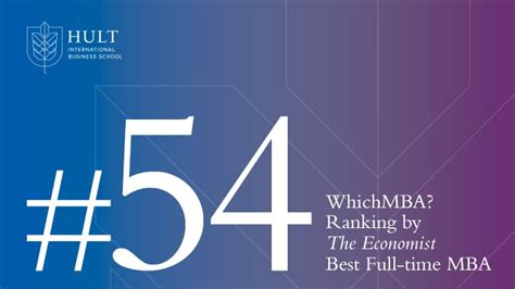 Hult Mba Reputation by The Economist Reviews Hult Mba Ranking 54th Best In World
