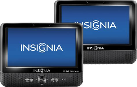 best buy insignia portable shredder only 7 99 shipped insignia 9 quot dual tft lcd portable dvd player black ns