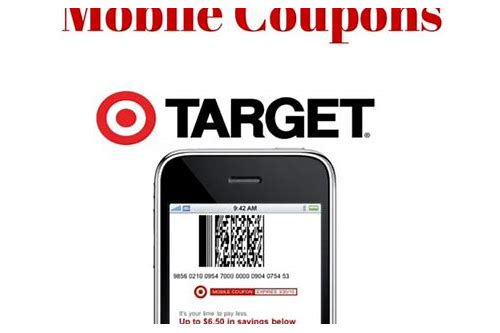 target coupons sent to my house