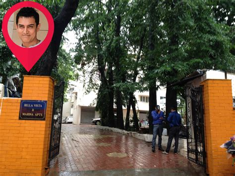 aamir khan home where they live celebrity homes in mumbai