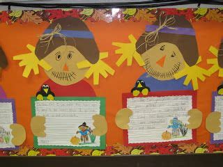 pattern of writing project scarecrow writing project free pattern slp general fall