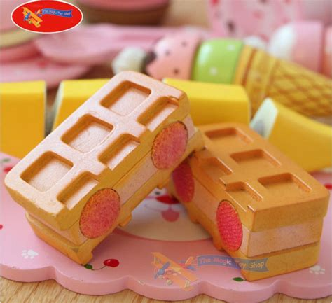 Play Desserts Mainan Shop Limited childrens cherry wooden tea cake cutting play food set
