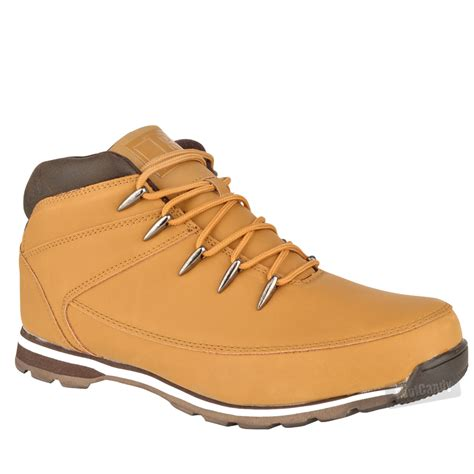 comfort boots mens boys casual lace up comfort hiking walking work ankle