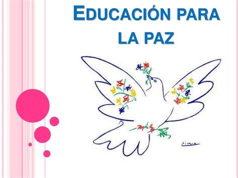 imagenes escolares de la paz educaci 243 n para la paz