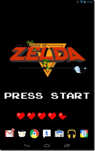 link themes for android create android zelda theme phoneia