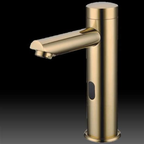 New Faucet No Water Pressure Buy Solo Gold Tone Sensor Faucet At Bathselect Lowest